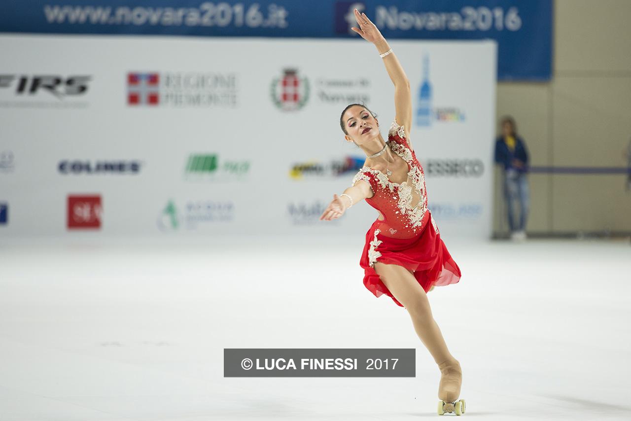 Fotografia sportiva. Campionato Mondiale di Pattinaggio Novara 2016. Foto di Luca Finessi.